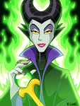Maleficent by rongs1234