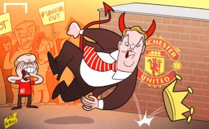 Van Gaal goes from king to devil by OmarMomani