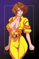 April o'Neil by xxloganxx