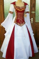 Medieval dress Lorena by Azinovic