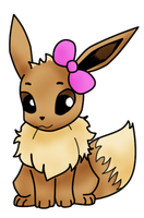 Eevee by BenHabby