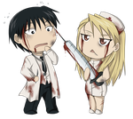 Zombie Doctors by kasuria