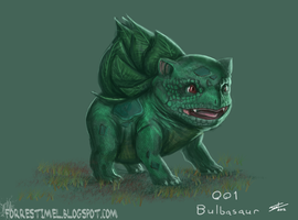 Bulbasaur by ForrestImel