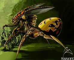 Bug-thingy by Niahawk
