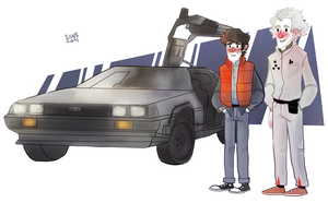 Back to the Futureee by SIIINS