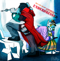 never underdressed by riotbreaker
