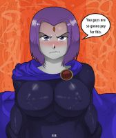 Raven lost a bet by EICHH-EMMM