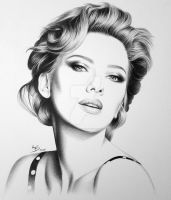 Scarlett Johansson by FromPencil2Paper