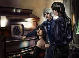 The Old Piano by mistysteel