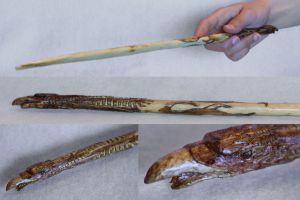 Wizarding World Phoenix Wand by aprilsundays