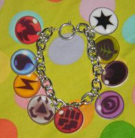 Pokemon Element Bracelet COMM by kouweechi
