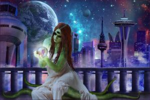 Happy New Millenium from Mars by Karyl-Delta