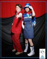 APOLLO + TRUCY COSPLAY by Mad-March