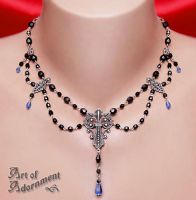 Imperial Filigree Necklace by ArtOfAdornment