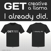 Get creative, get a llama by gingergenius