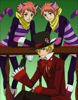 Ouran - two disguises by caromadden