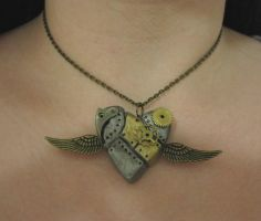 Everyones doing it pendant by Gothic-Enchantress