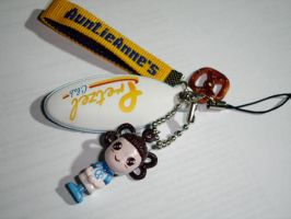 AuntieAnne's - Phone strap by littleemmy