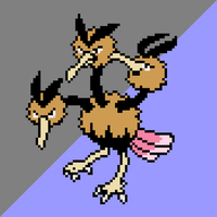 085 Dodrio by jokernaiper