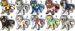 Cat OTA Batch (Open 8/10) by SinfullyAdopt