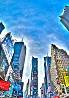 Times Square HDR I by AlanSmithers