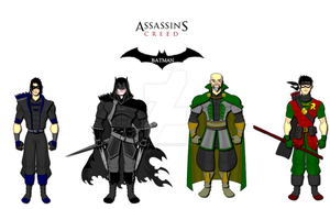 Assassin's Creed: Batman by SplendorEnt