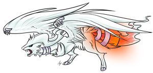 Reshiram by Sevonite