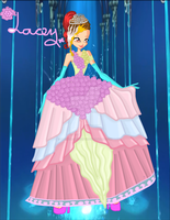 Lacey Flower Princess and Coronation Outfit (BG) by Natalia-Enchantix