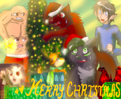 Merry Christmas '09 by J-LXXVII