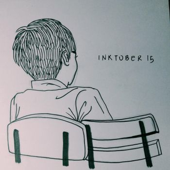 Inktober #15: Boy by Skottanze