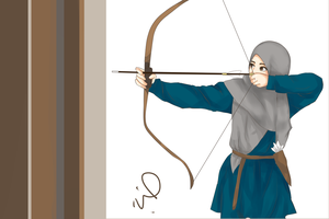 Muslimah Archer by sheepikos