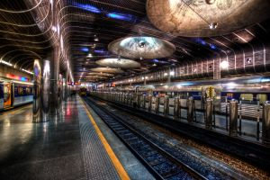 Britomart Trainstation by MisterDedication
