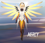Mercy - Overwatch by JeyraBlue
