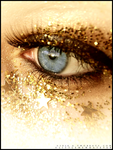 Gold Vision by littlemewhatever