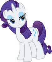 Rarity Unamused by Sazlo