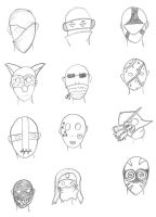 Mask Ideas by FaceInTheNight
