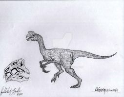 Oviraptor by JBugallo