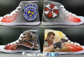 Resident Evil Shoes by danleicester