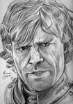 Tyrion Lannister by ahmonza