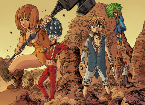 Gowther explore gowther on deviantart - Ban seven deadly sins wallpaper ...