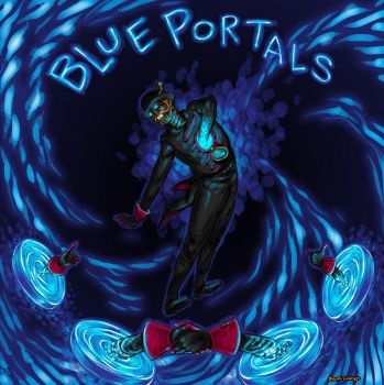 Blue Portals by samhears