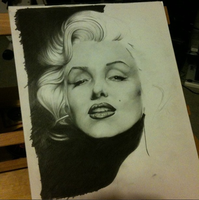 Marilyn WIP by MsZVG