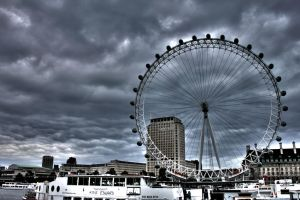 London Eye HDR by BeanieToast