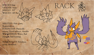 Rack refrence sheet by Obsequious-Minion