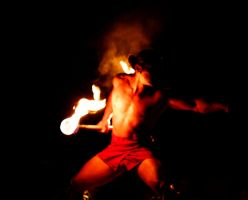 Manly Fire Dancer is Manly by ashenwings777