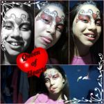 Queen of hearts based of make up by AdrixCosta