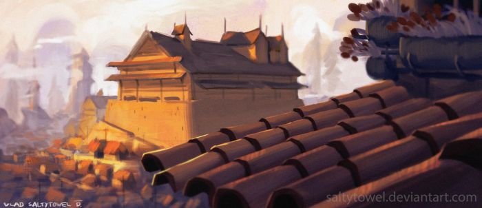 Fortress by saltytowel