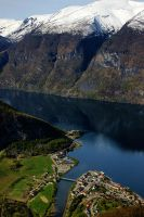 Aurlandsfjorden II by twisteDtenDerness