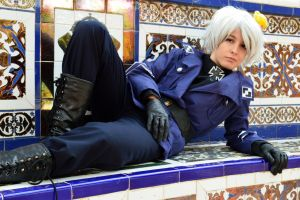 Prussian blue- Prussia cosplay by Voldiesama