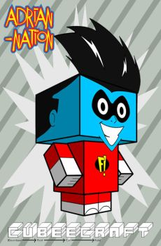 Freakazoid template by ADRIAN-NATION